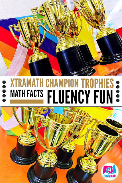 XtraMath Champion Trophies - Math Facts Fluency Fun!