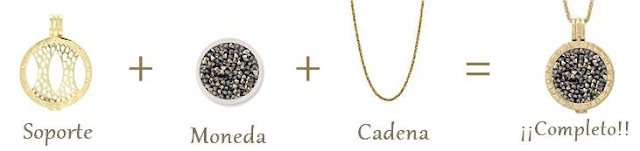 colgante, necklace, mi moneda, silver, celebs, paula echevarria, fashion