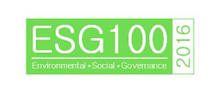 2016 List of ESG100 Companies