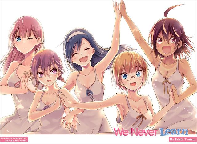 Finaliza oficialmente el manga Bokutachi wa Benkyou ga Dekinai