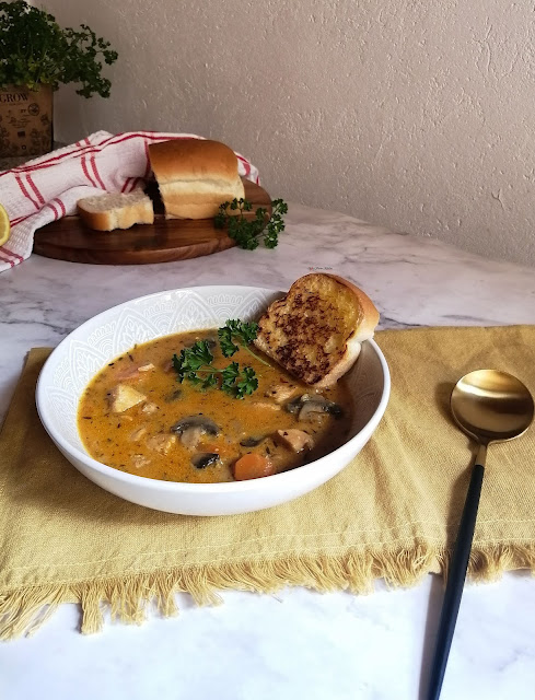 wild rice soup, soup, wild rice, recipe, spicy fusion kitchen, mushrooms, vegetarian, chicken soup, mushroom soup, carrot soup, pinterest food, food, food photography