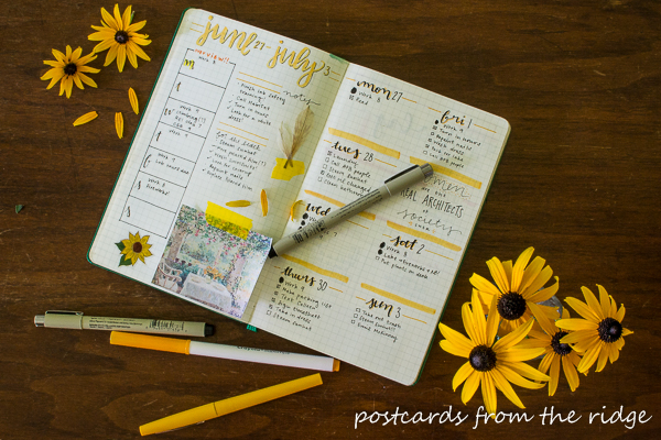 Bullet Journaling 101 Tips For Beginners Postcards