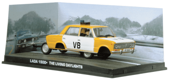 Lada 1500 - The living daylights 1:43 colección james bond