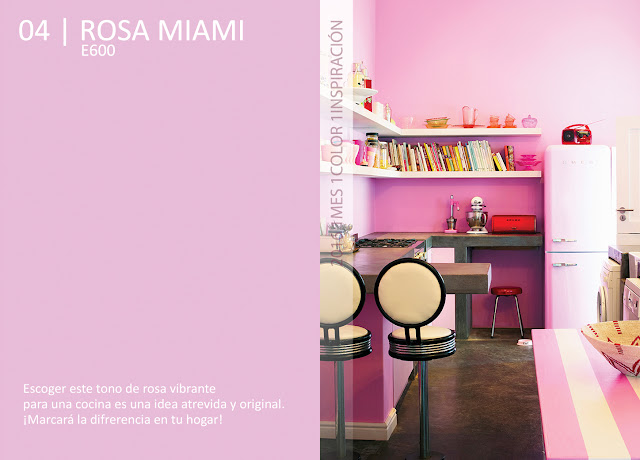 1 Mes 1 Color: Abril es Rosa Miami