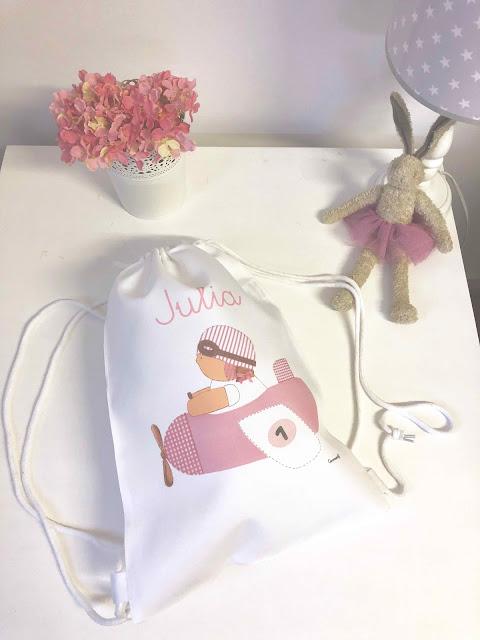 mochias para niños personalizadas con nombre