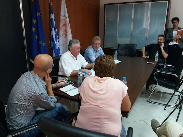 Θεσπρωτία: Η συνέντευξη τύπου του Δημάρχου Ηγουμενίτσας και του Προέδρου της ΟΛΗΓ (ΒΙΝΤΕΟ)