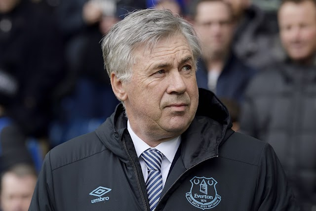 Liverpool clash will test Everton's progress -Ancelotti