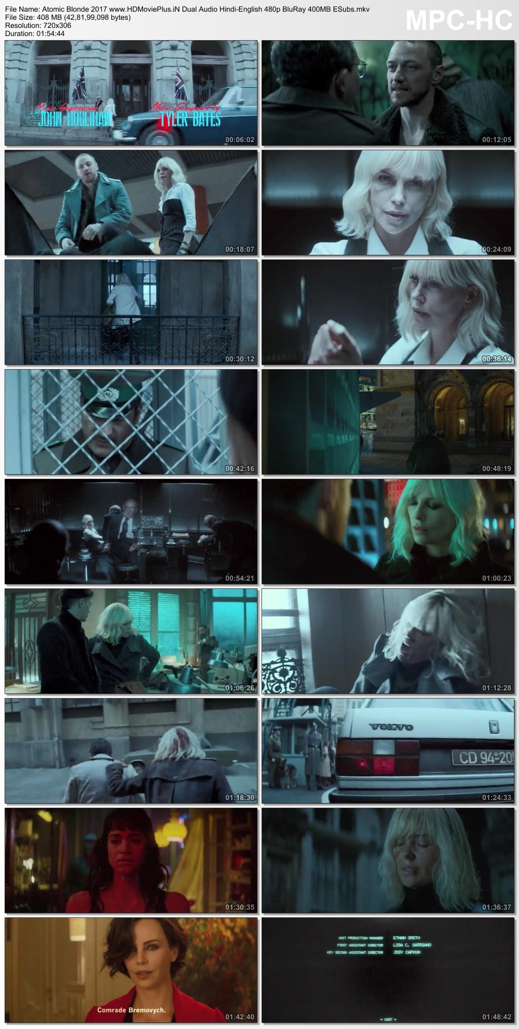 Atomic Blonde 2017 Dual Audio