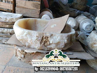 Wastafel Cuci Tangan | Wastafel Batu Onyx