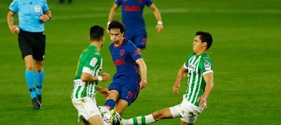 ملخص واهداف مباراة اتلتيكو مدريد وريال بيتيس (1-1) الدوري الاسباني