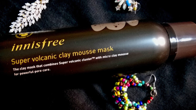 Innisfree Super Volcanic Clay Mousse Mask Review
