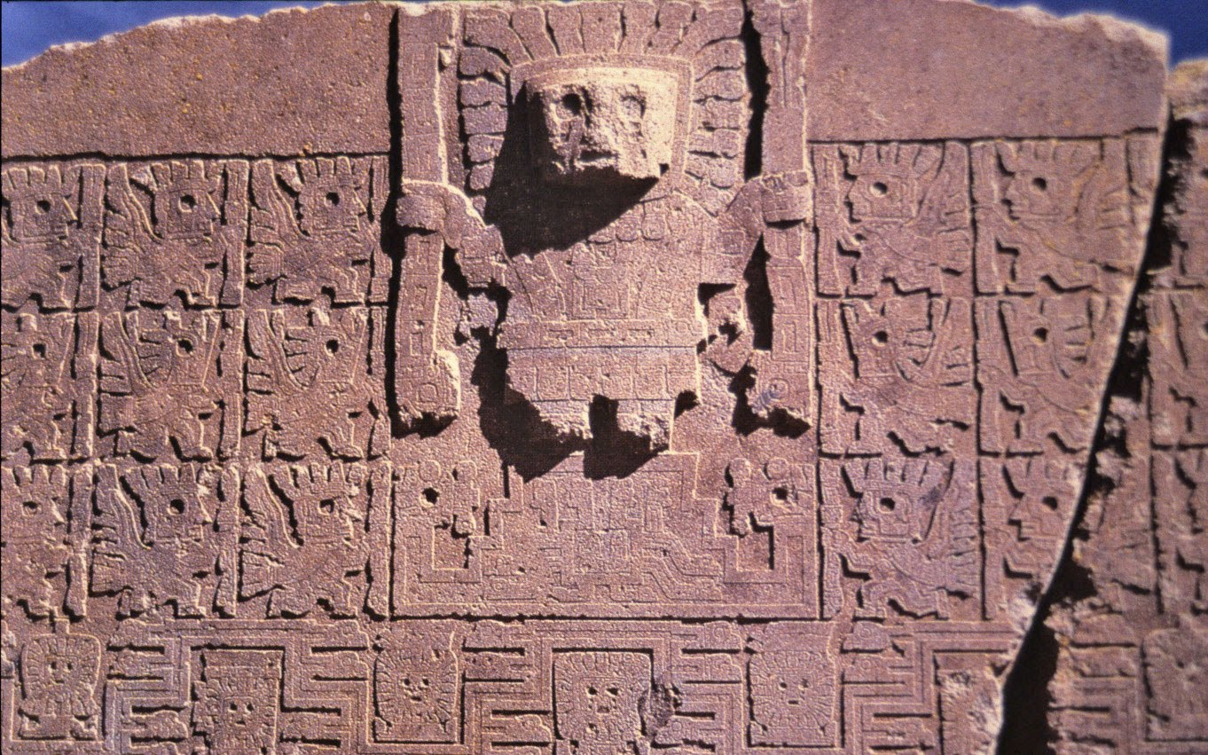 Sumerian writing at puma punku