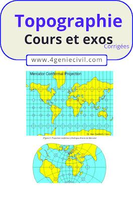 cours topographie bien détaillé pdf et exercices corrigés