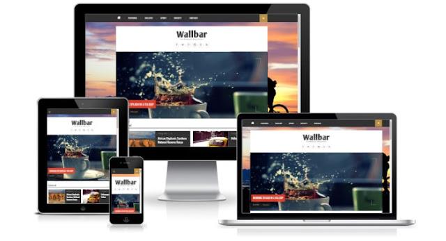 Wallbar blogger template