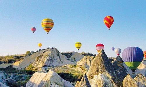 Wisata Balon di Turki