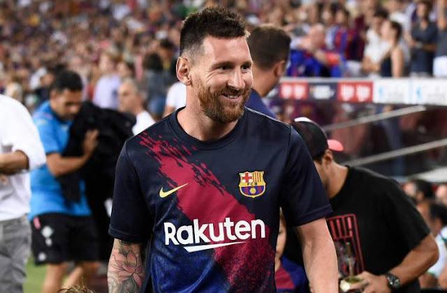 Lionel Messi Ready to Return When Barcelona Oppose Dortmund