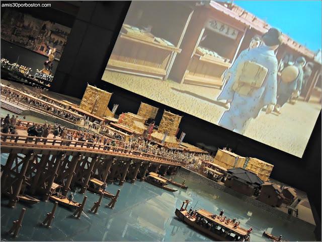 Maquetas del Museo Edo-Tokyo