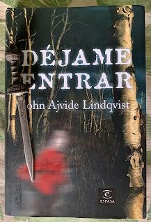 Portada del libro Déjame entrar, de John Ajvide Lindqvist