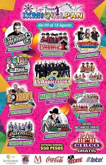 feria ixmiquilpan 2019