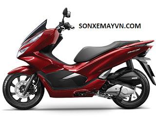 Bán Sơn xe máy Honda PCX và PCX hybrid