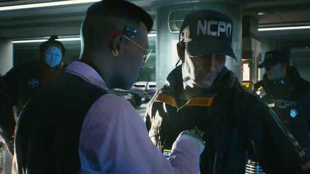 NCPD Cyberpunk 2077