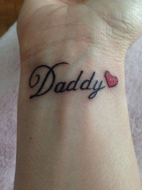 Tattoo Gallery About Dad