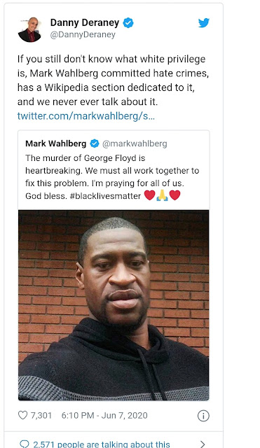 mark wahlberg george floyd