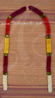Large garlands for Lingam Decorations