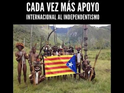 Cada vez más apoyo internacional al independentismo catalán