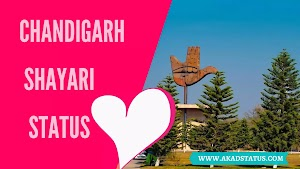 I love chandigarh Shayari In Hindi | Chandigarh ki Shayari