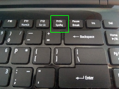 catatanikrom tombol print screen keyboard laptop notebook