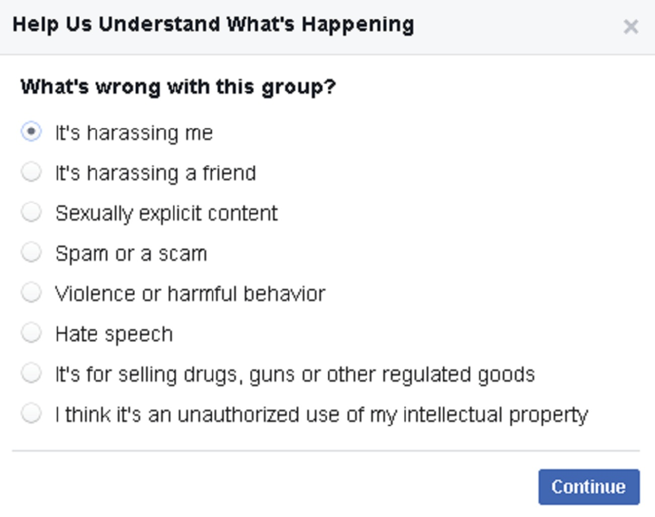 Dealing With Facebook Group Spam