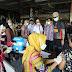 Pedagang Mi dan Bakso di Semarang Divaksin