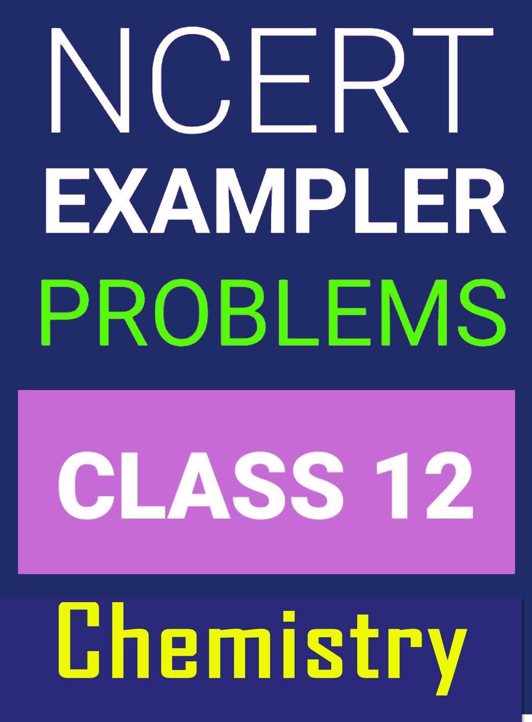 NCERT Mathematics Class-XII Exemplar Material For JEE