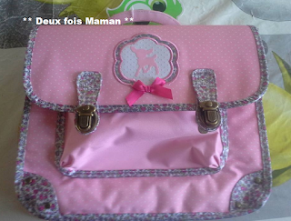 sac fille maternelle