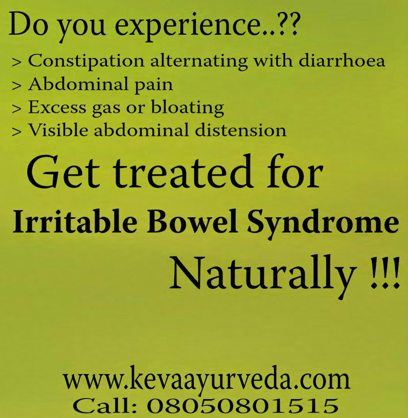 Keva Ayurveda: Get treated for IBS Naturally !!!