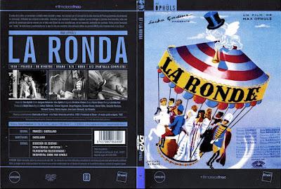 Carátula dvd: La ronda (1950) La ronde