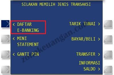 Daftar E Banking BJB