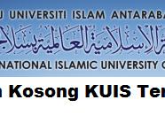 Jawatan Kosong KUIS 13 September 2017