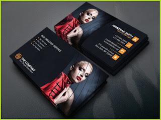 business card design free
