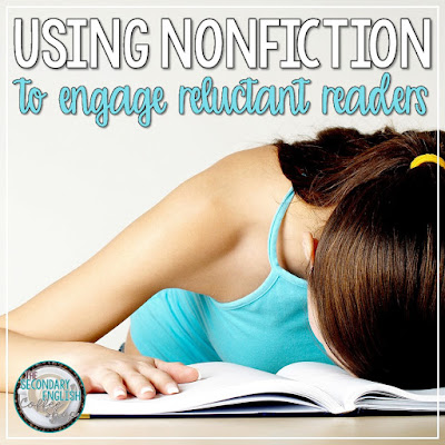 Using Nonfiction to Engage Reluctant Readers cover