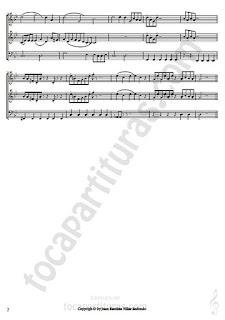 PARTITURA Trío Cuarto Movimiento: Requiém A TRES VOCES para viento madera Les Choristes