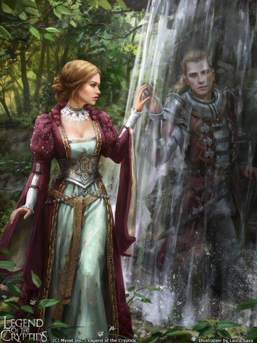 Laura Sava anotherwanderer deviantart arte ilustrações fantasia card game legend of the cryptids mobius final fantasy