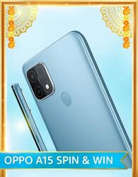 Amazon OPPO A15 Spin And Win Quiz