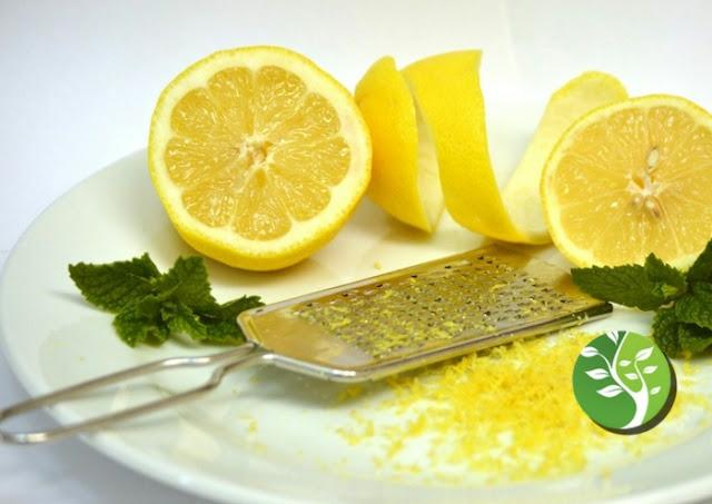 La cáscara de limón puede aumentar la inmunidad y prevenir infecciones
