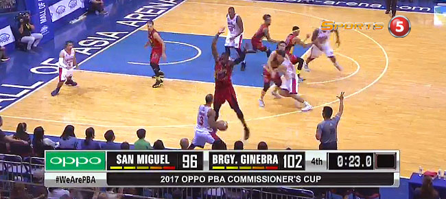 Ginebra def. San Miguel, 107-99 (REPLAY VIDEO) May 21