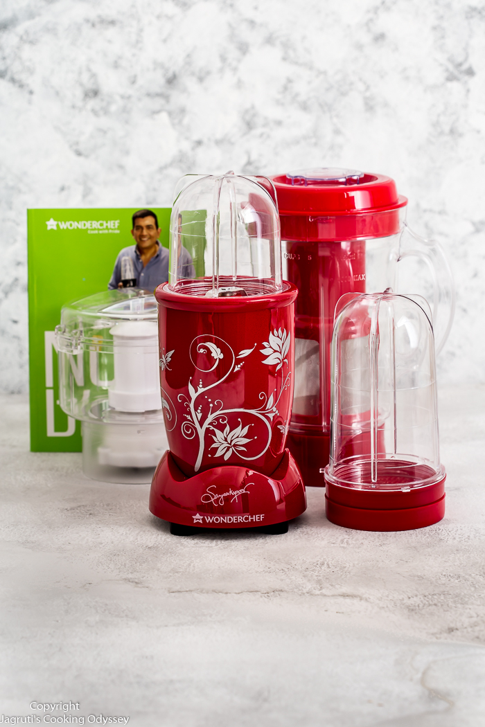 Wonderchef nutri blend is crafted by Indian masterchef sanjeev kapoor. Now available in the UK.