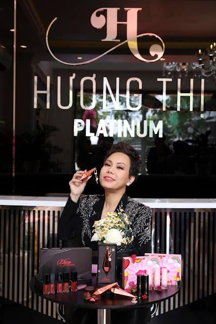 Nghệ sĩ Việt Hương tưng bừng khai trương cơ sở mỹ phẩm Hương Thị - Ảnh 7