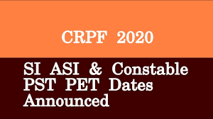 CRPF Paramedical PET PST Admit Card 2020, CRPF Paramedical Staff Exam Date 2020, Download CRPF,Central Reserve Police Force