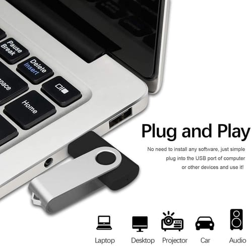 Review Aiibe 5 Pack 32 GB USB 2.0 Flash Drive